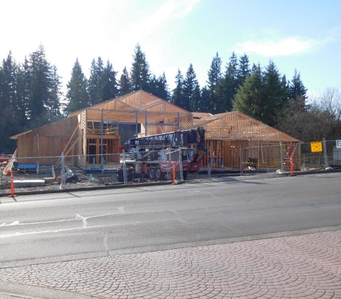 Construction at Station 55 20