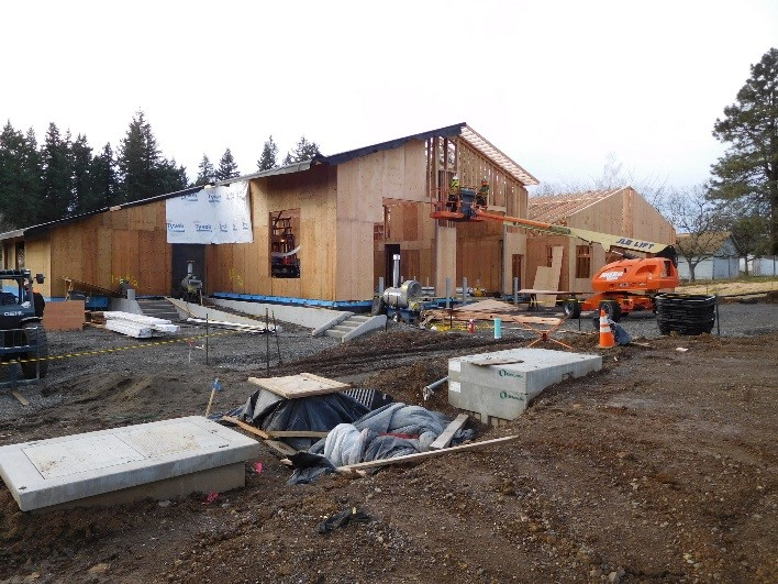Construction at Station 55 16