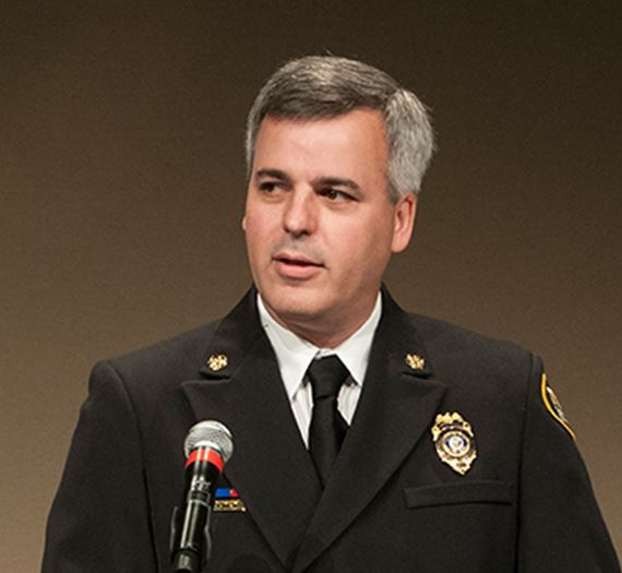 Fire Chief Michael R Duyck