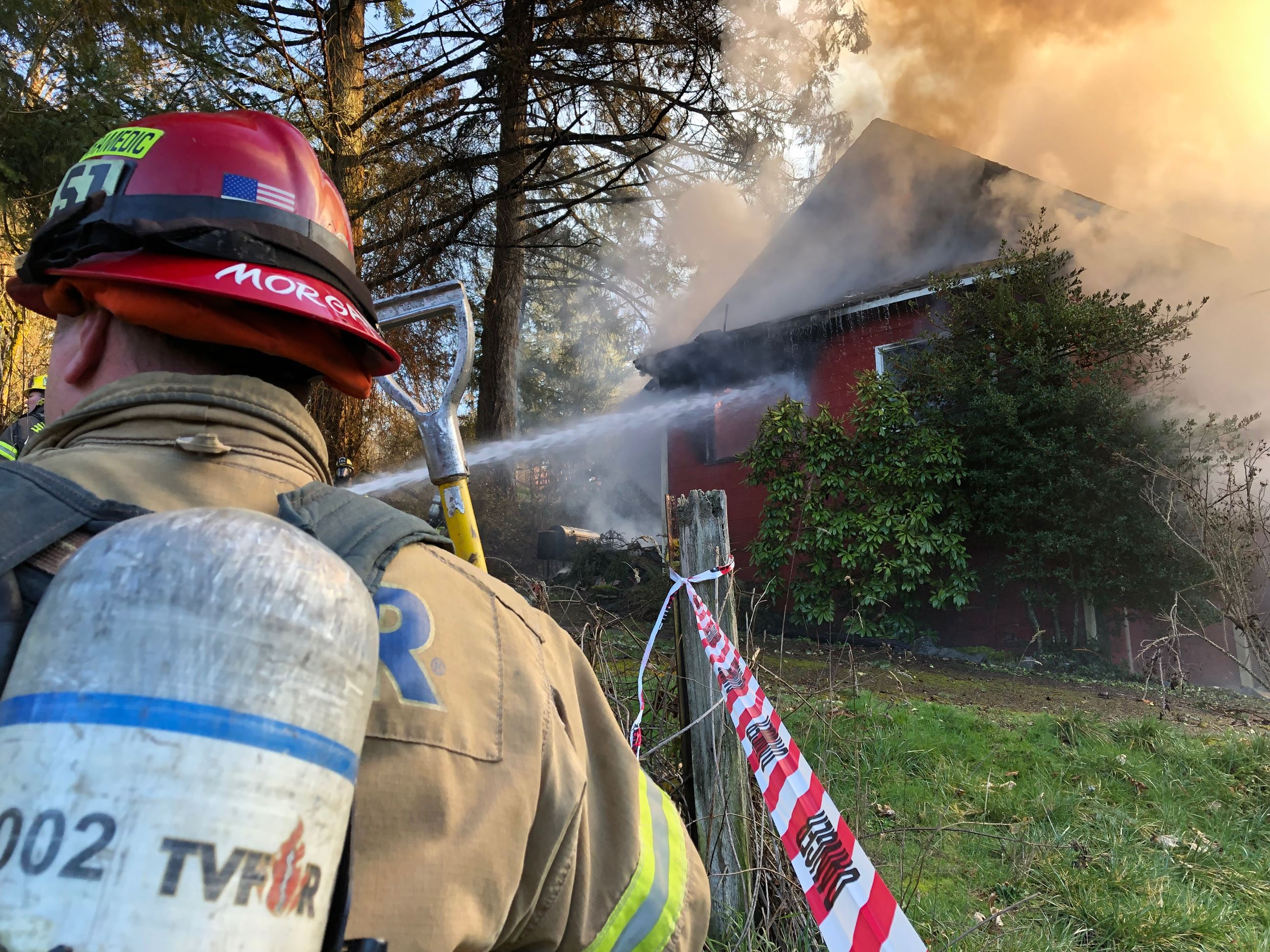 Cornelius Pass House Fire 1-14-19
