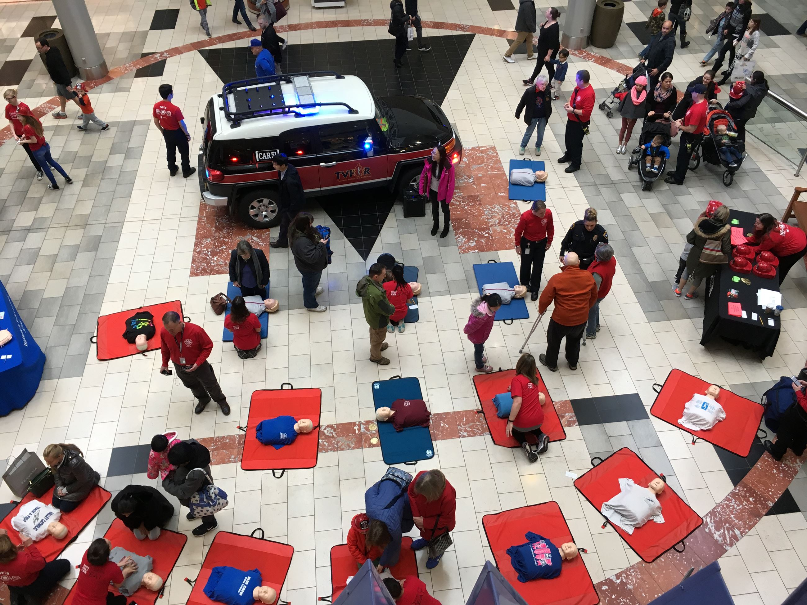 Washington Square Hands-Only CPR Event