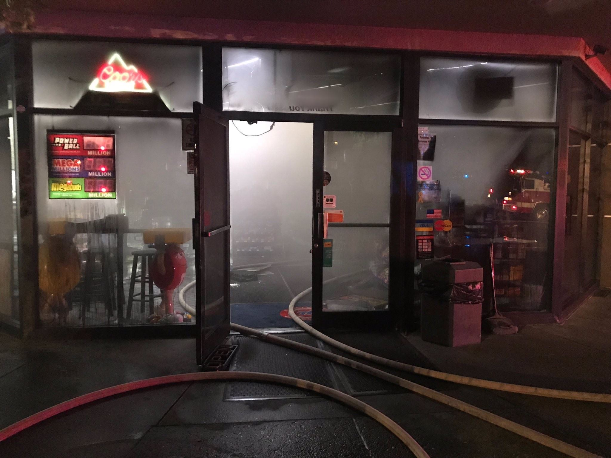 Tualatin Commercial Fire
