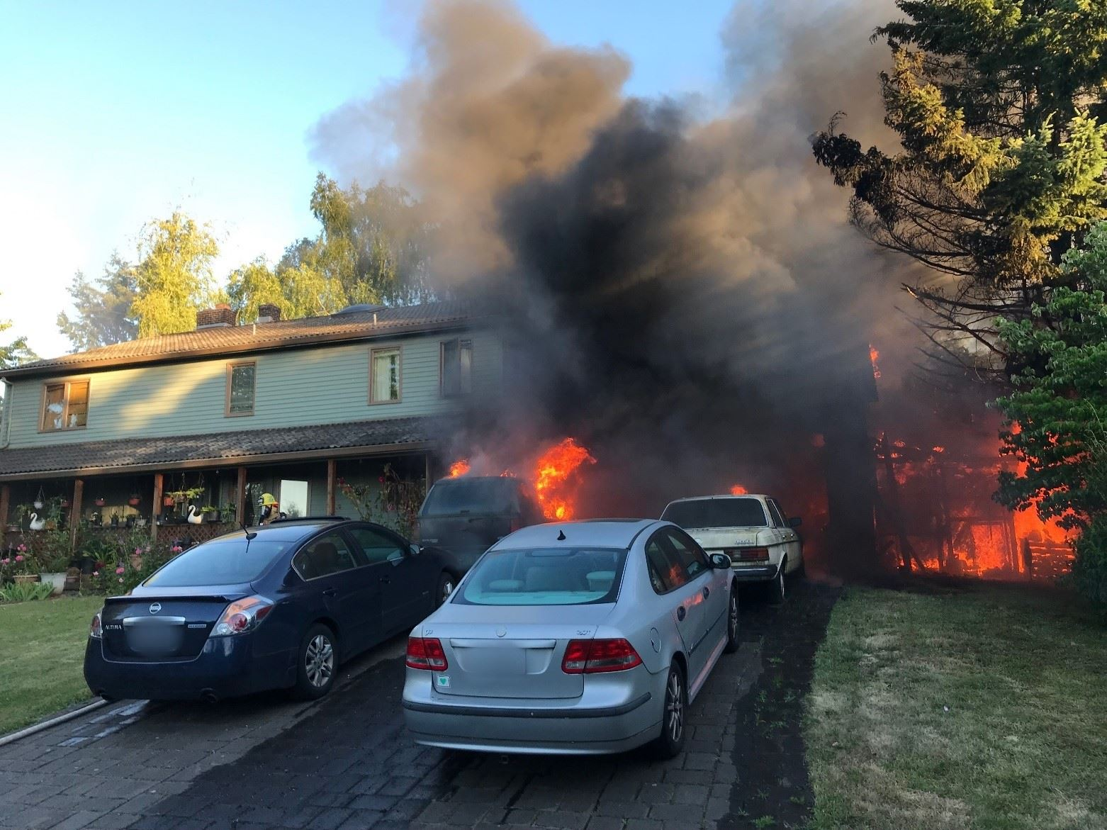 Beaverton House Fire Displaces Family