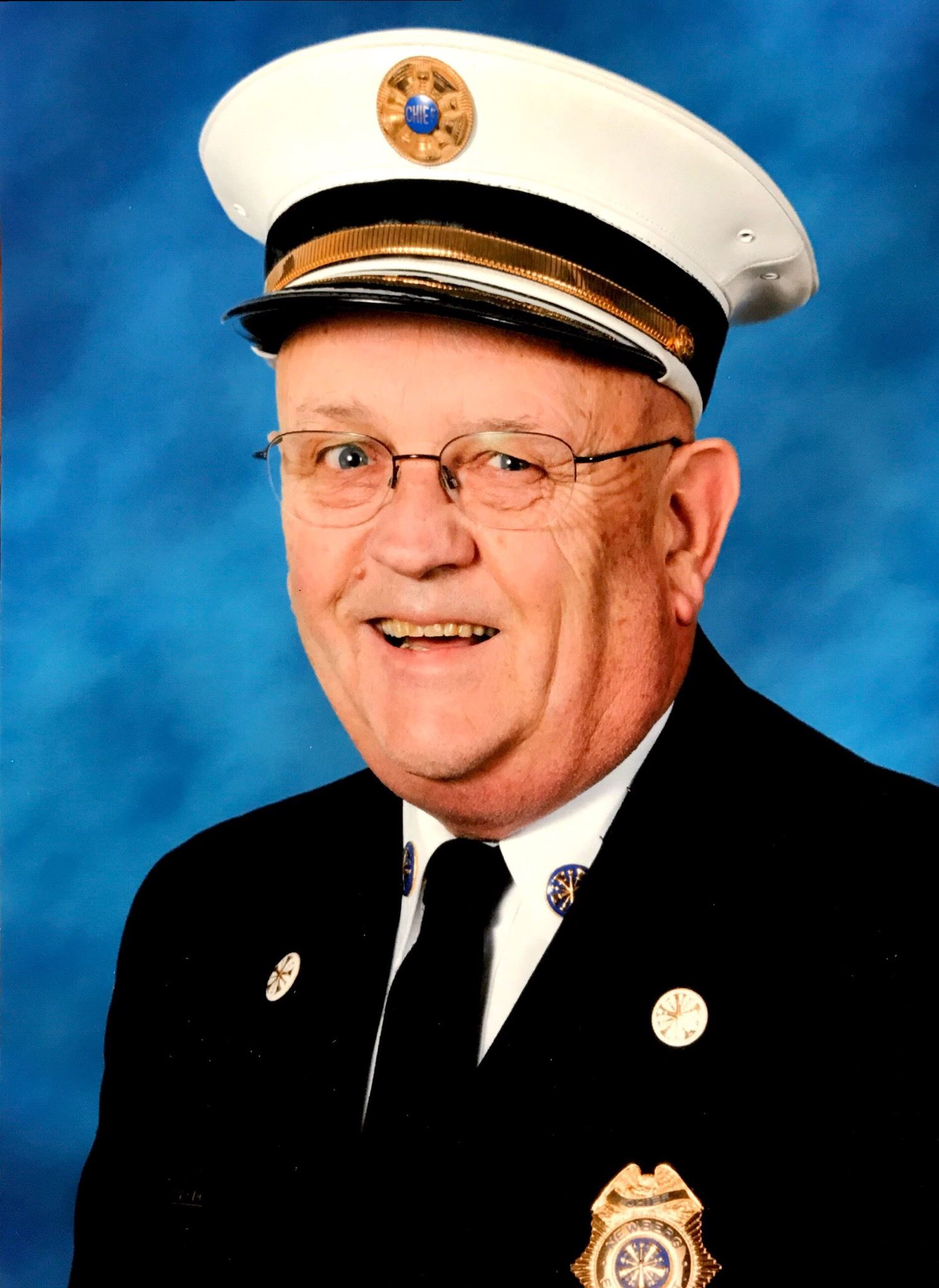 Retired Newberg Fire Chief Al Blodgett