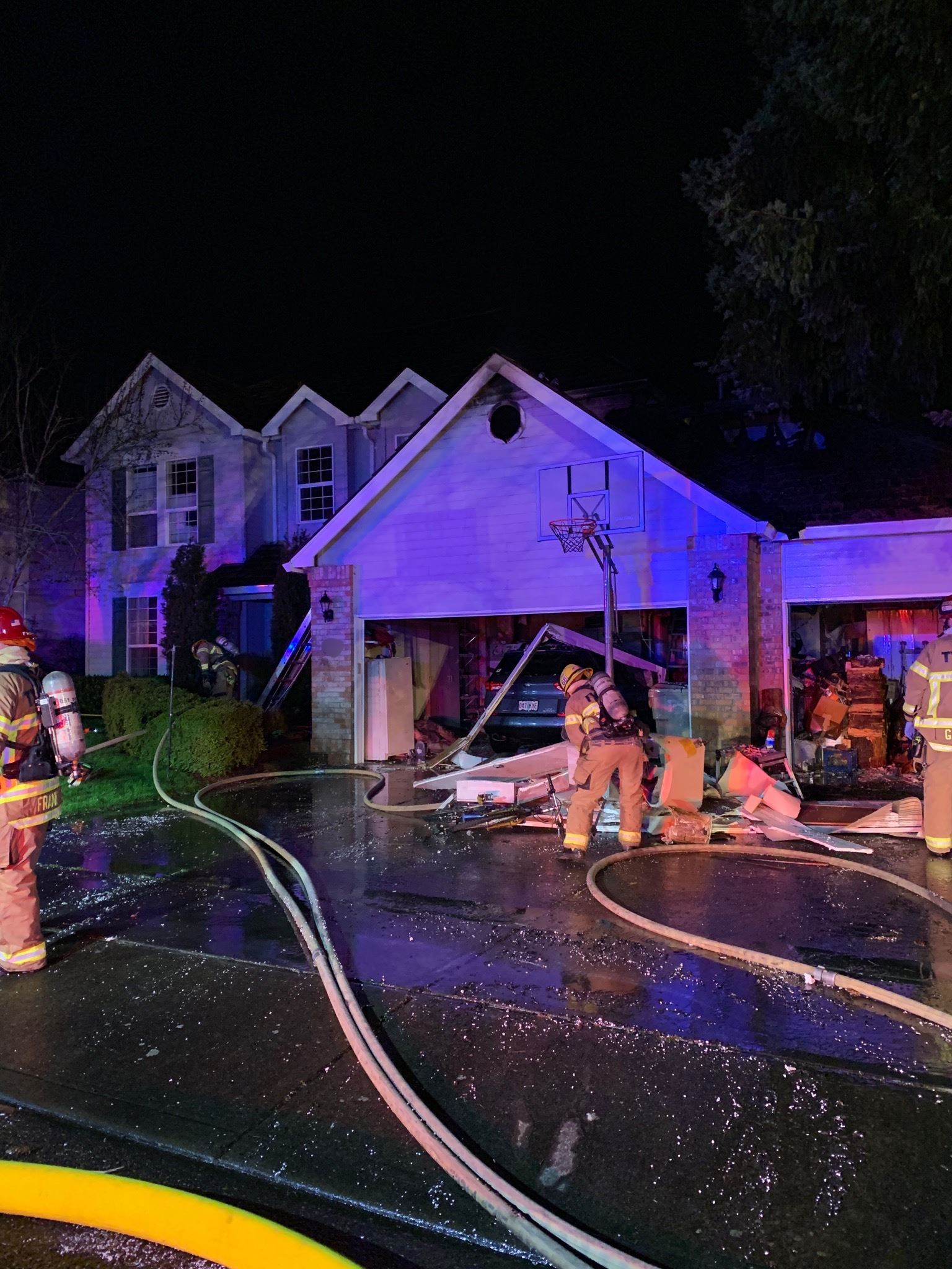 Residential Fire at 169th Place in Beaverton
