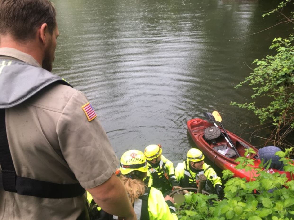 Tualatin River Water Rescue