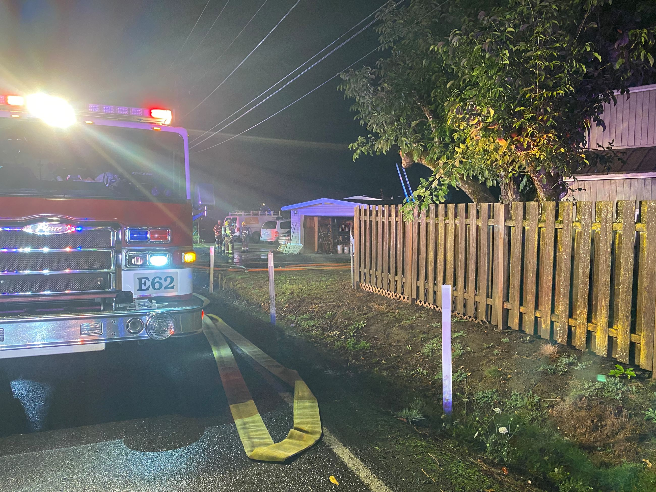 Kinnaman Road House Fire