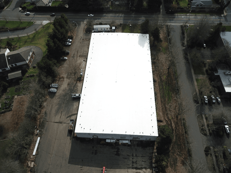 Aerial Image of Logistics Service Center Roof