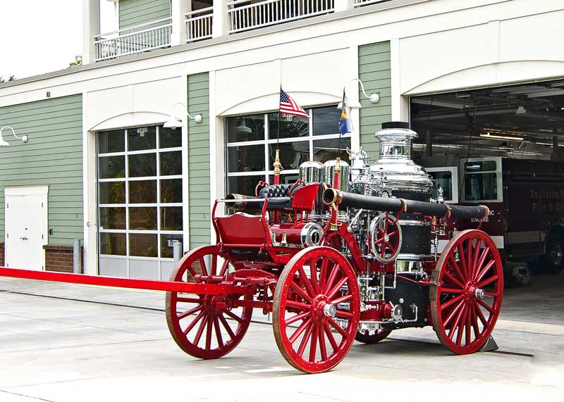 1904 Nott Fire Engine