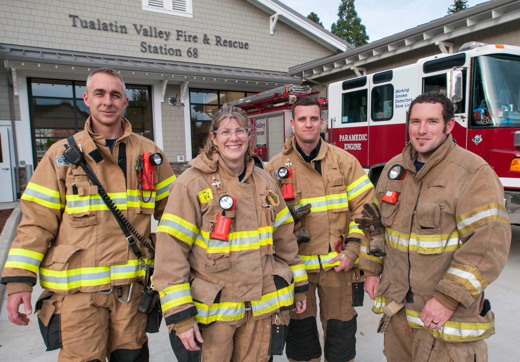 TVF&R Firefighters