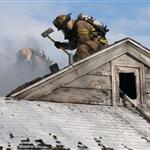 Fire Scene - Roof Work