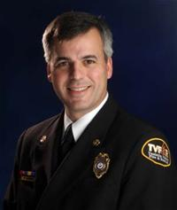 Fire Chief Mike Duyck